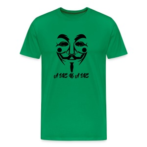 Guy Fawkes A Lie - Premium T-skjorte for menn