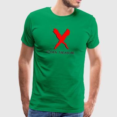 Versteckter Schatz - Männer Premium T-Shirt