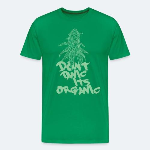 Dont panic, its organic - Männer Premium T-Shirt
