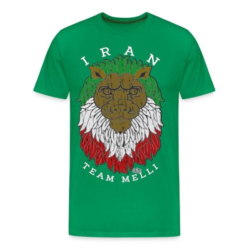 TEAM MELLI IRAN W - Männer Premium T-Shirt