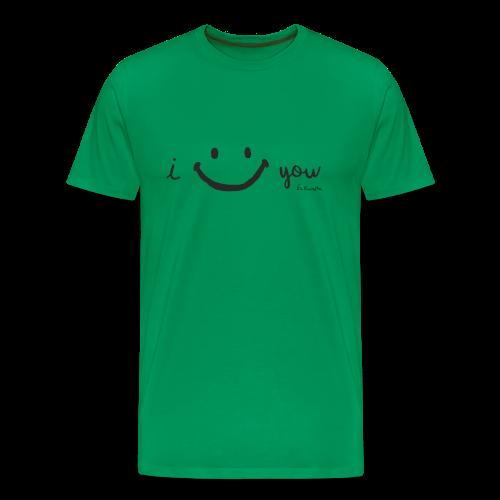 ISMILEYOU - Camiseta premium hombre