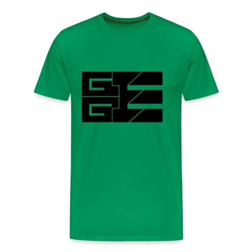 GGE Logo Schwarz - Männer Premium T-Shirt