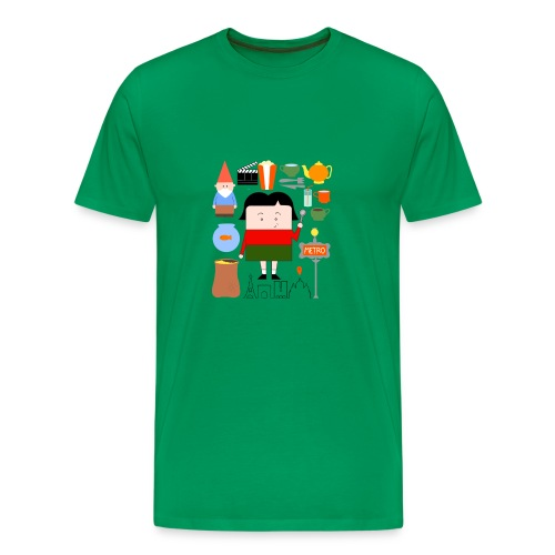 La Petite Amélie completa - bag - Camiseta premium hombre