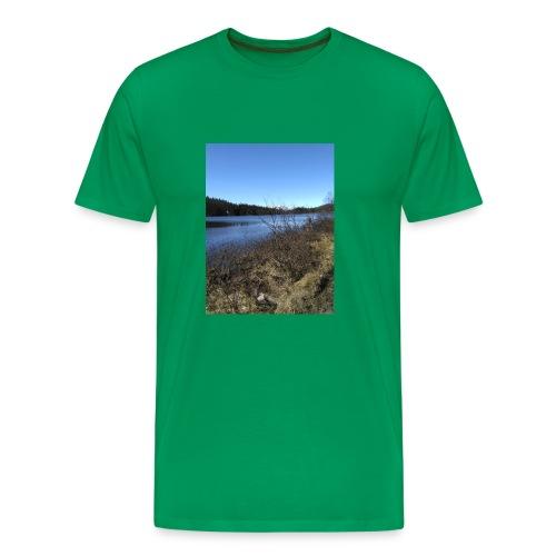 Fjelltur - Premium T-skjorte for menn