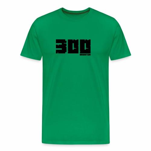 BrixxtoN 300 Abo Schwarz - Männer Premium T-Shirt