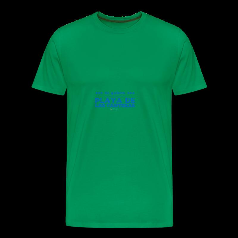 Te quiero Playa de Las Canteras - Camiseta premium hombre