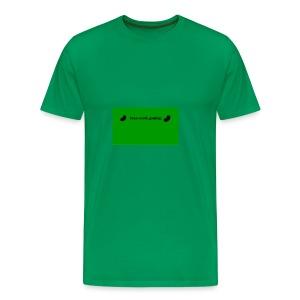 bean_norsk_gaming-jpg - Premium T-skjorte for menn