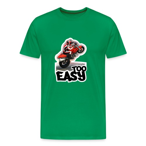 Ducati Monster Wheelie A - Camiseta premium hombre
