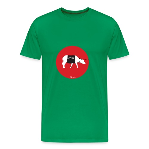 la marche à la vache - T-shirt Premium Homme
