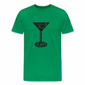 Martini Cocktail Glas - Männer Premium T-Shirt