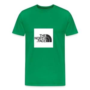 the north face logo - Men's Premium T-Shirt
