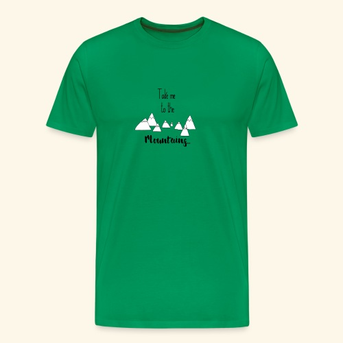 To the mountains - Men's Premium T-Shirt