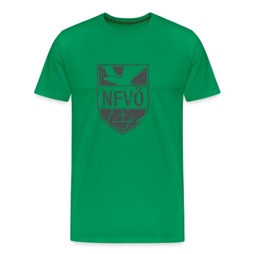 NFVO Patch-Like - Männer Premium T-Shirt