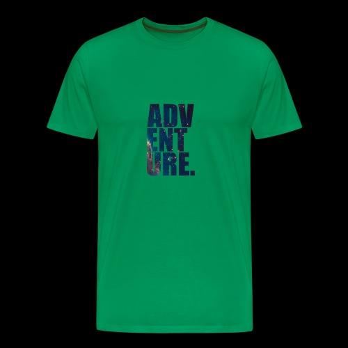 Adventure T-Shirt - Premium T-skjorte for menn