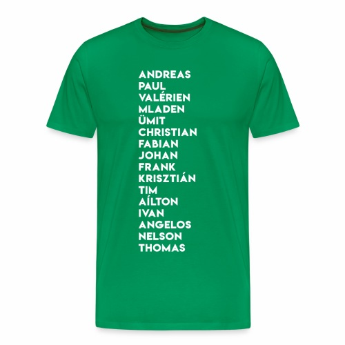 2003/04 Doublesieger Team - Männer Premium T-Shirt