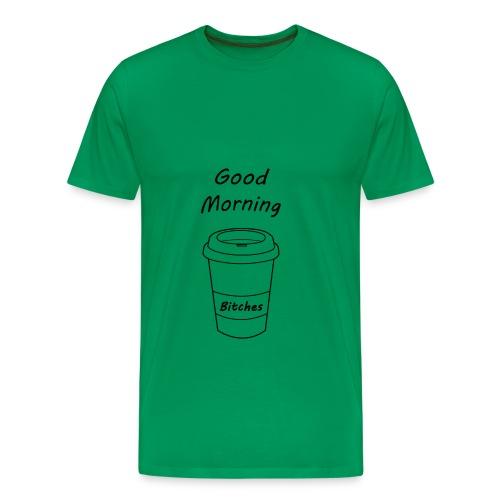 Guten Morgen t-shirt - Männer Premium T-Shirt
