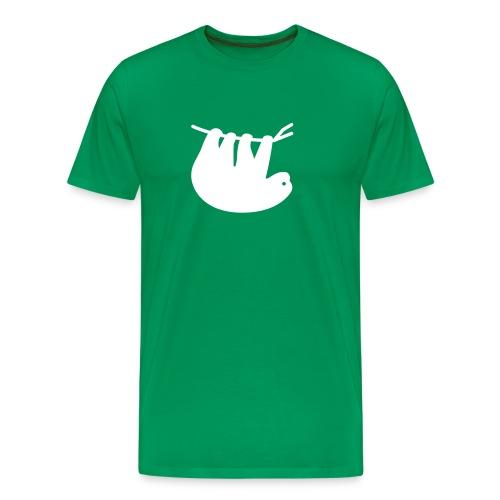 Lazy Slothbert - Männer Premium T-Shirt