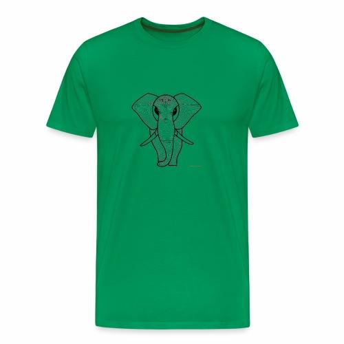 Elephant - Camiseta premium hombre