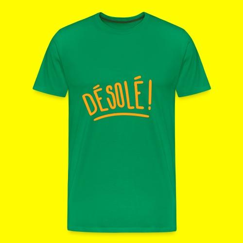 SnapShirt désolé ! - T-shirt Premium Homme