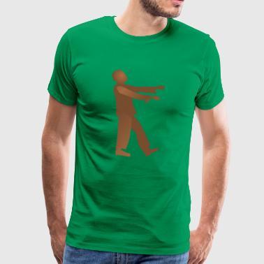 Työväenluokan Zombie - Miesten premium t-paita