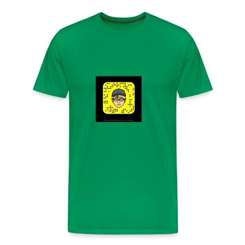 Mr.Lightning Snapcode - Männer Premium T-Shirt