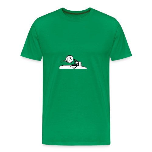 Meme Escupir - Troll Face -Taza - Camiseta premium hombre