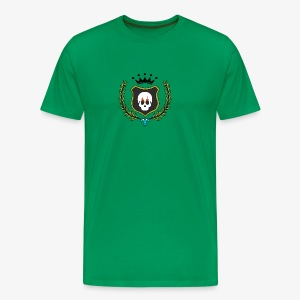 Skull Shield - Men's Premium T-Shirt
