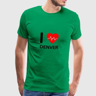 J'aime Denver - J'adore Denver - T-shirt Premium Homme