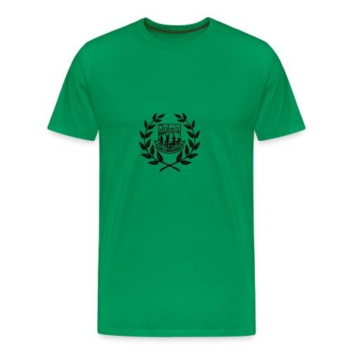 kranz schwarz2 - Männer Premium T-Shirt