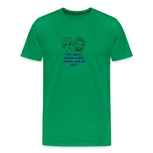 Mutha Ucka Flight of the Conchords - Men's Premium T-Shirt