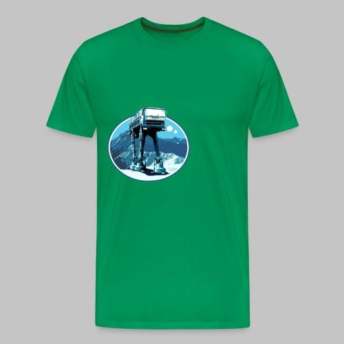 truck in movie - Premium-T-shirt herr