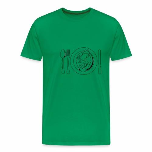 Es ist angerichtet. - Männer Premium T-Shirt