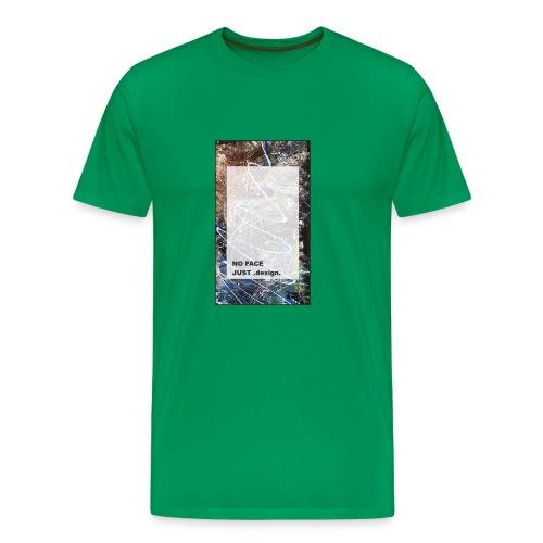 no face just design - Männer Premium T-Shirt