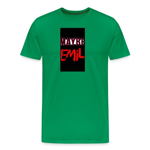 Maybe emil - Premium-T-shirt herr