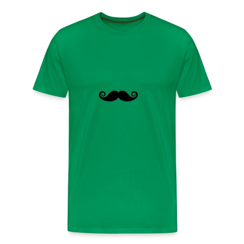 mustache - Mannen Premium T-shirt