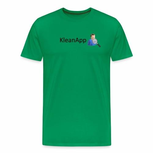 KleanApp Logo - Männer Premium T-Shirt