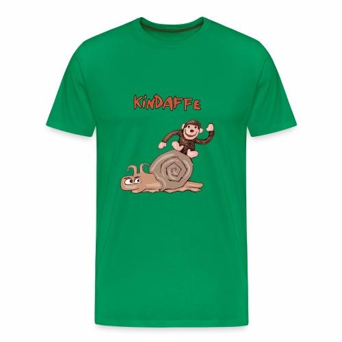 Kindaffe wird geschrumpft - Männer Premium T-Shirt