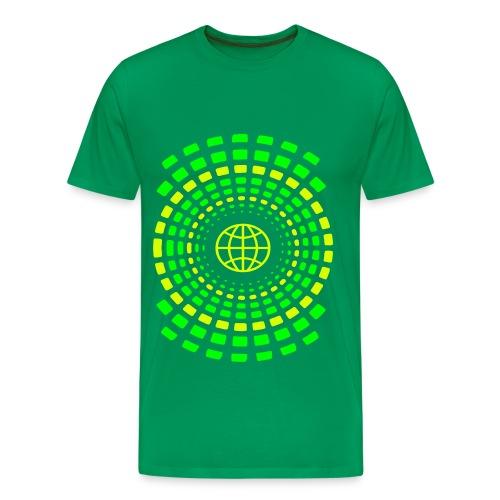 Rings of Earth - Männer Premium T-Shirt