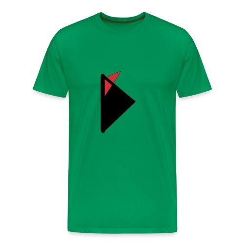 Triangulo con cola. - Camiseta premium hombre