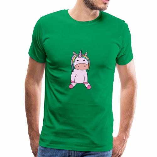 Teddy Unicorn - Männer Premium T-Shirt