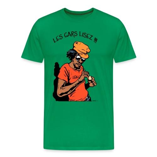 Les Gars Lisez !!! - T-shirt Premium Homme