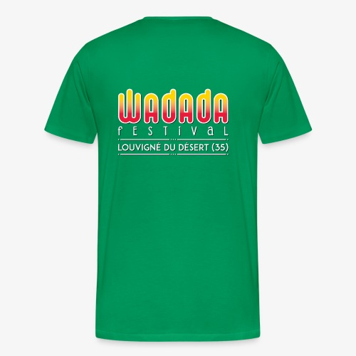 Wadada couleur - T-shirt Premium Homme