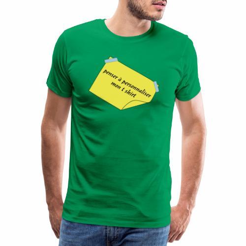 post it - T-shirt Premium Homme