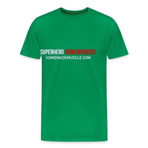 SUPERHERO HOMEWORKOUT - Premium t-shirt for Men - Men's Premium T-Shirt