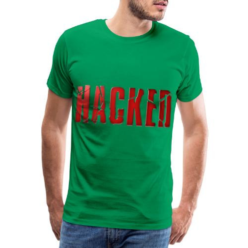 Hacking - Premium-T-shirt herr