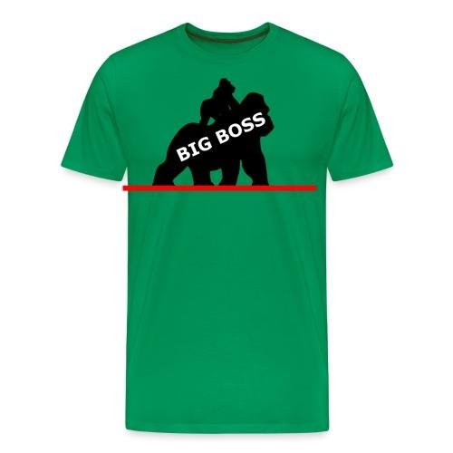 Affe Gorilla Shirt Monkey T-Shirt Big Boss Gorilla - Männer Premium T-Shirt