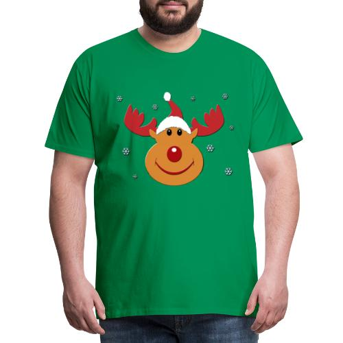 Rudolf for christmas - Mannen Premium T-shirt