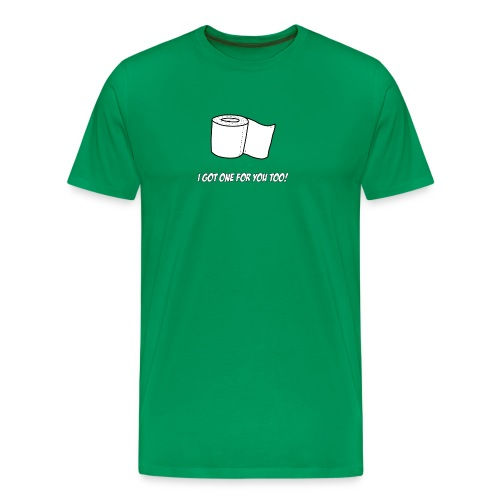 Toilette Paper for Everyone - Männer Premium T-Shirt