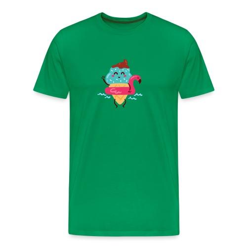 helado kawai - Camiseta premium hombre