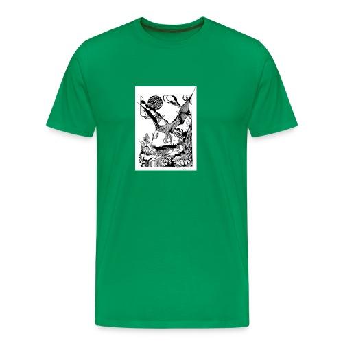 guerrera - Camiseta premium hombre